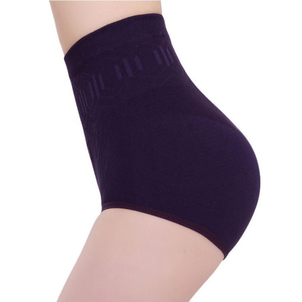 Al por mayor-Liweike2017 Nueva Llegada Moda Sexy Womens cintura alta control de la barriga del cuerpo Shaper Briefs adelgazar pantalones en Stock caliente