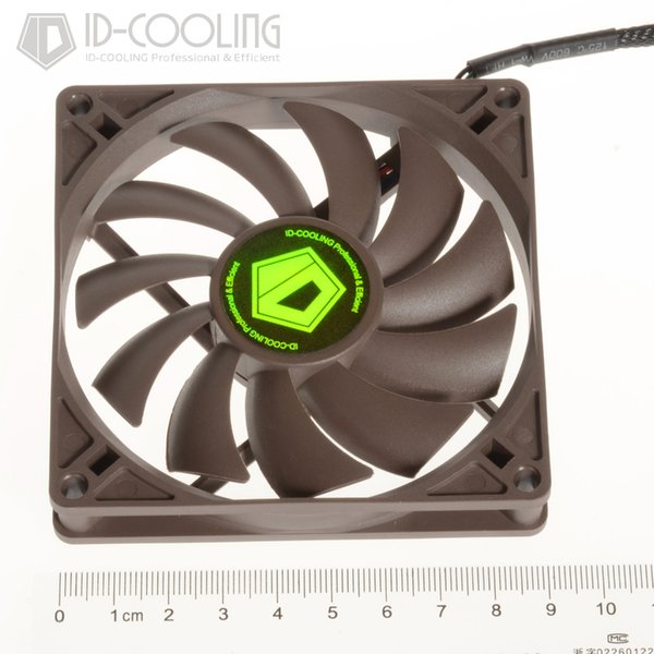 2019 Wholesale ID COOLING 92*15mm Slim Low Profile Cooling Fan 4Pin PWM  High Air Pressure,Low Noise & Big Airflow,For CPU&GPU&VGA Cooler From