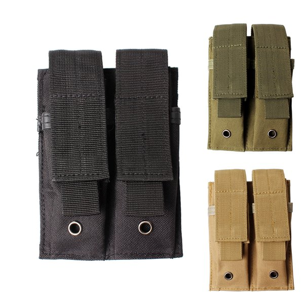 Double Magazine Pouch 1PC Pistol Magazine Mag Pouch for Ruger 22 Mk1 Mk2 Mk3 Browning Buckmark & Similar-H54