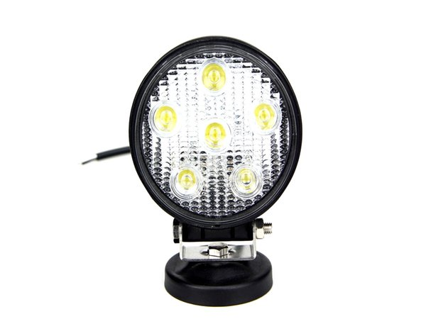 hotesale factory price 4 inch 18w led work light round flood beam led work lighting for truck tractor