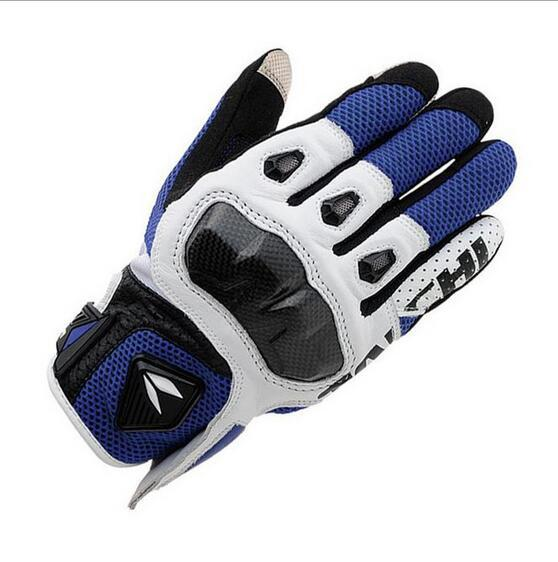 best selling New TAICHI RST411 Motorcycle Gloves Flexible Motorbike Mesh Summer Glove Motocross Racing gloves Full Finger Protective Gear