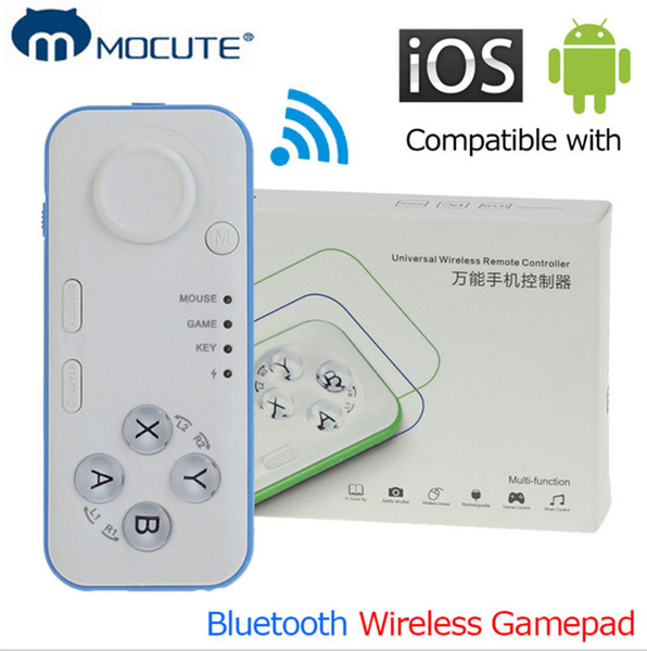 MOCUTE 039 Wireless Gamepad Bluetooth Game Controller Joystick for Iphone and Android Phone Tablet PC Laptop and VR 3D Glasses