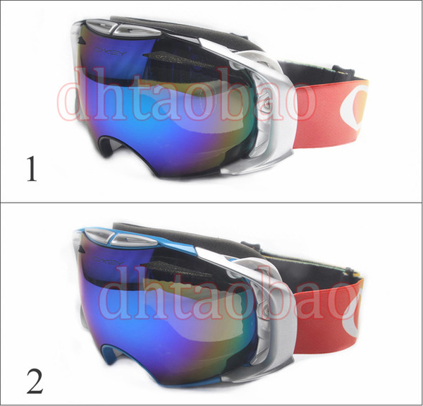 52ae2865c1 Moq 1 Pcs High Quality Unisex Ski Goggles Anti-Fog UV400 Snowboard Glasses  Men Women White Frame Skiing Snow Goggles 2 Colors Free Shipping