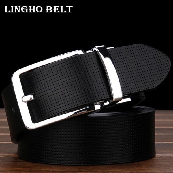 Vente en gros- 2017 nouvelle mode en cuir véritable mens ceinture deux couleurs double usage ceinture designer hommes luxe Casual jeans ceintures pour hommes Yd23