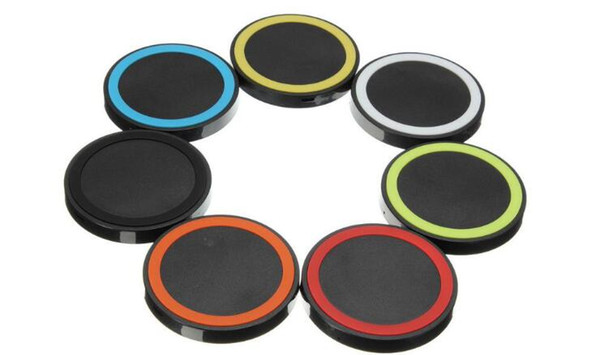 Universal Qi Wireless Charger Cell phone Mini Charge Pad For Qi-abled device Samsung nokia htc LG cellphone with retail package JE13