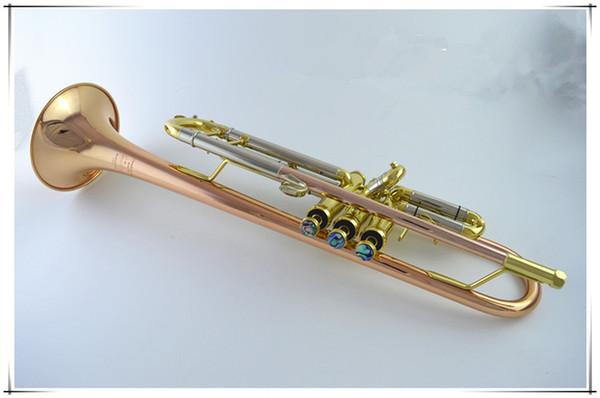 Wholesale- 2017 American Bach trumpet instrument LT180S-39 B flat phosphor bronze trumpet beginner Grading professional