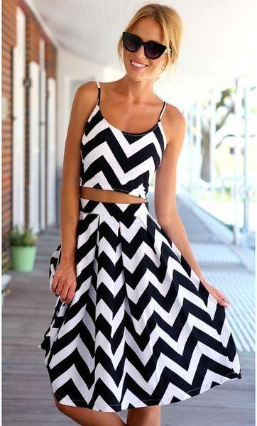 Party Dress Women Fashion Sexy Dress Hot Club Wear New Two-piece Dresse Black 1 Colors ( Size: S, M, L )