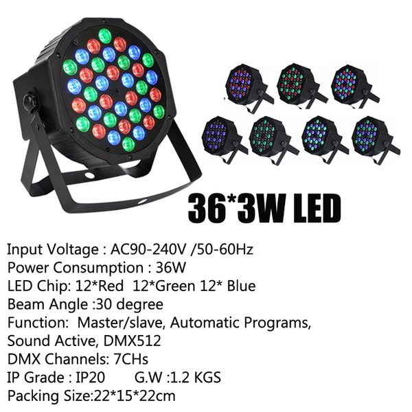 36 * 3W LED