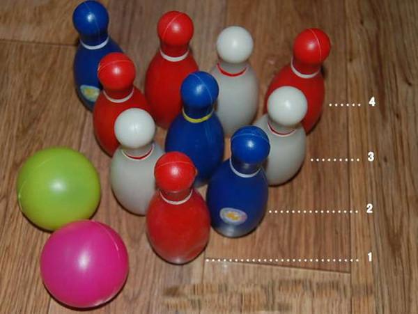 Дети Детские Родительские игры для детей Боулинг Шар Костюм Игрушки Фитнес для всей семьи Унисекс Спорт Пластик