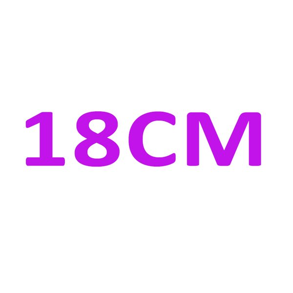 브랜드 홀 마크가있는 18CM