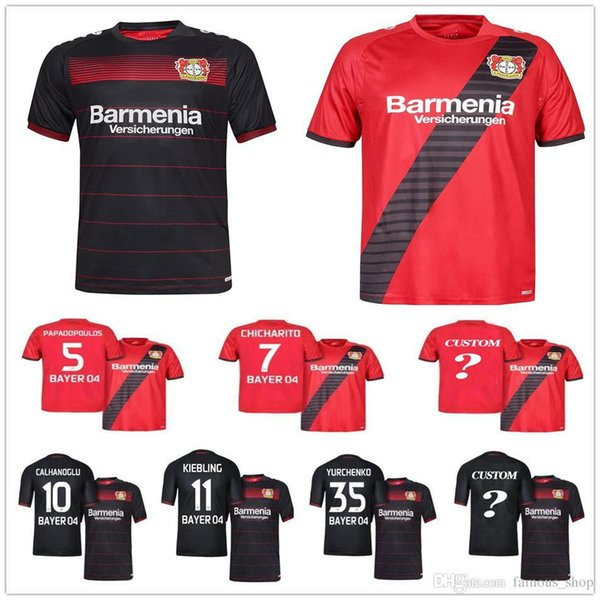 camisetas de futbol Bayer 04 Leverkusen deportivas