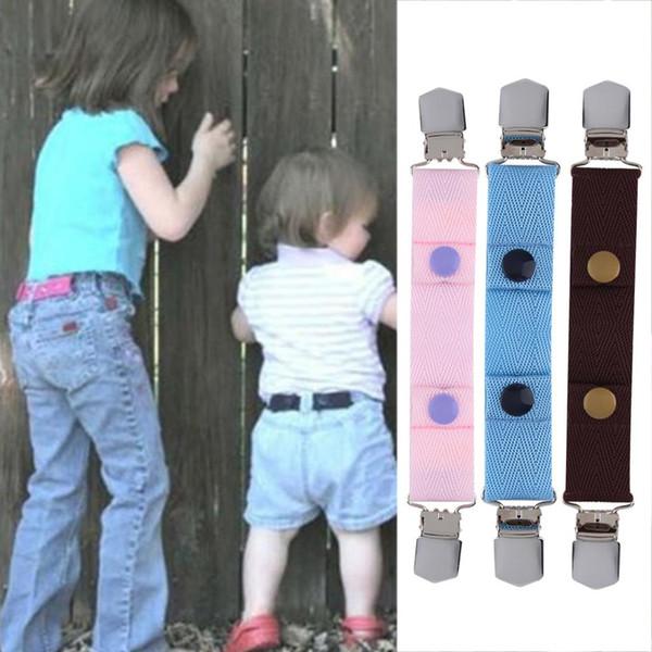 Wholesale- 100% Brand New Children Kids Jeans Pants Canvas Adjustable Belt Elasticated Buckle Clip Belt Hot