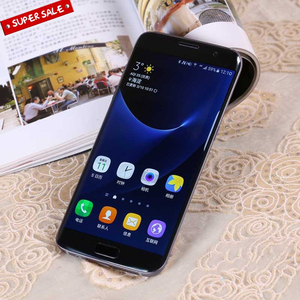 Best Goophone S7 Edge 1G RAM 8G ROM Cell Phone Quad Core 5 5inch  Smartphones A+ Clone Phone DHL Free Sasktel Cell Phones Sell Old Cell  Phones For Cash