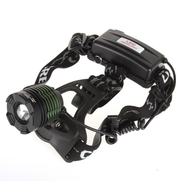 LB-XL T6 500Lm Rechargeable Waterproof Zoomable Headlamp & Charger LEG_538