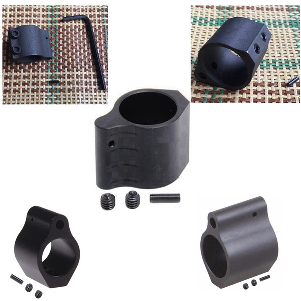 5 Types Hunting Tactical AR15 223 5.56 Micro Low Profile .750 .875 Steel Gas Block .223  w Top With Roll Pin Gas Port Controller