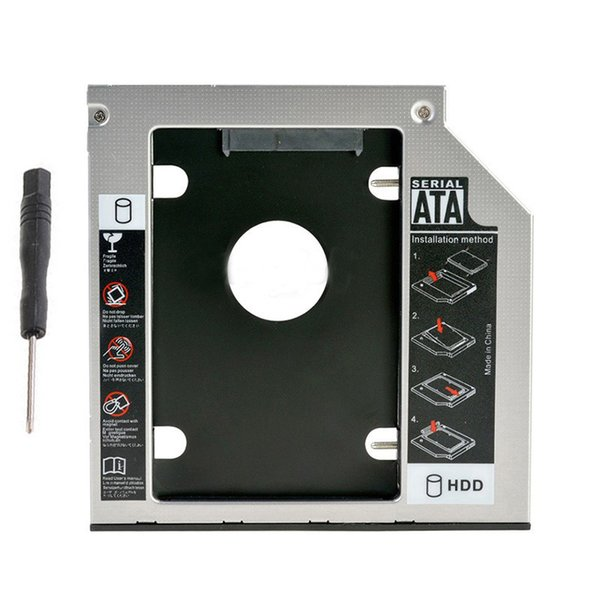 Wholesale- 2nd SATA Hard Drive SSD HDD Caddy for Lenovo V580 V580c V480 V480A-ISE DS8A8SH