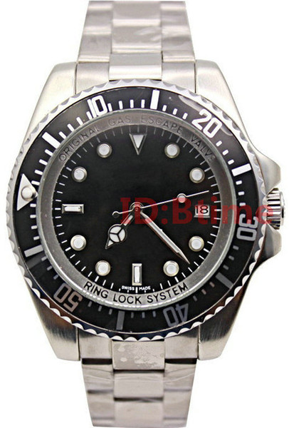 Designer Men's 44mm mechanical Stanless Steel Bracelet 116660 SEA-DWELLER Automatic movement Business Casual SEA mens Watch
