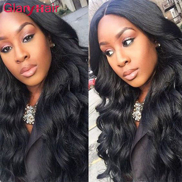 Cheap Brazilian virgin Human Hair Body Wave Thick Hair Extensions Curly Weave Wavy Remy Human Hair Weft Natural Color Fast free shipping