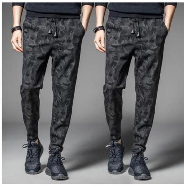 f166742ac8b95 Army Military Camouflage Joggers Men Elastic Waist Sweatpants Hip hop  Streetwear Fashion Trousers Plus Size M