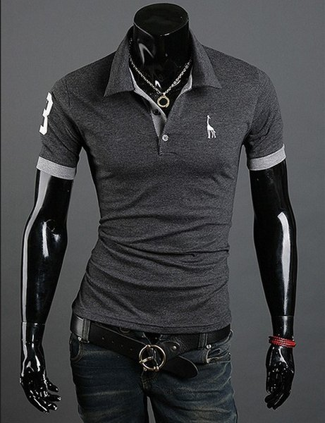 Hot Selling Brand New Mens Polo Shirt Men Cotton Polyester Polo Shirts Short Sleeve shirt with Top Quality
