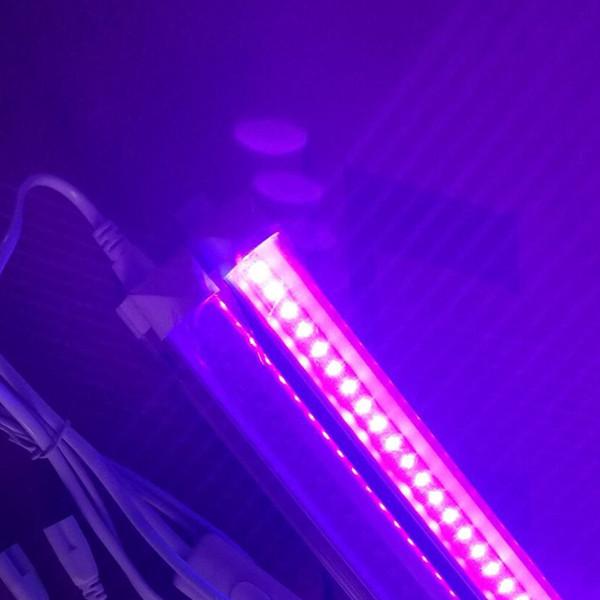 T5 T8 LED UV 395-400nm Schlauch 5ft 4ft 3ft 2ft 1ft AC100-240V 6-24W Integrierte G13-Leuchten 24-144LEDs Blubs Lampen Ultraviolett-Desinfektion Germ