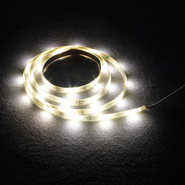 Led Digital Bed Lighting Sensor Strips Motion Bedroom Light Dc 12v Warm White Under Cabinet Hallway Dark Corner 1 2m Single Double Bed Led Stripes
