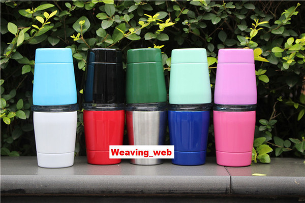 DHL OR FEDEX 9oz Cup with lids straws Kids Gifts Insulated Double Wall Kids Tumbler Stainless Steel Lowball Wine Tumbler