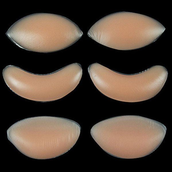 DHL-freie Huhn-Fillets Silikon-Brust-Vergrößerer-BH-Einlage-Auflagensilikon-Büstenhalter drücken die unsichtbaren Einsätze Brust-Vergrößerer-Auflagen 300pairs