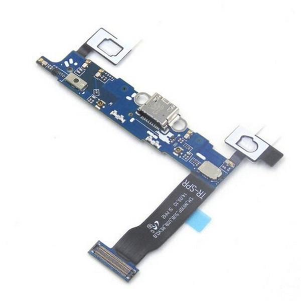Caricabatterie originale Dock USB di ricarica Cavo Flex con parti di riparazione MIC per Samsung Galaxy NOTE 4 N910A N910P N910V N910V