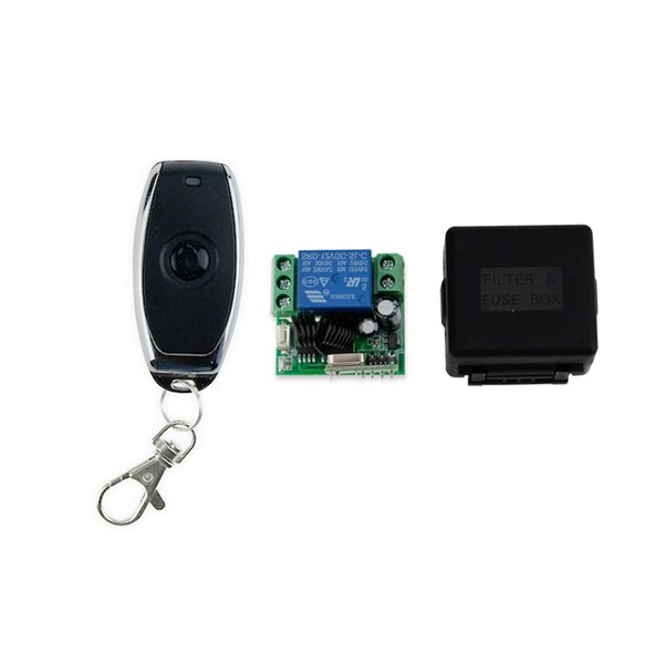 Wholesale- Free shipping high quality 433MHz metal wireless remote control switch for door lock access control remote open door key-JS31