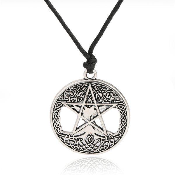 Myshape Handmade diy Pendant Antique Moon Star of David Tree of Life Charm for Necklace/Bracelets Jewelry Making