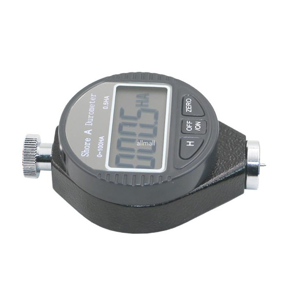 best selling Freeshipping Digital gauge Shore hardness Durometer Digital Hardness Tester Hardness Meter Shore A for Plastic leather rubber multi-resin