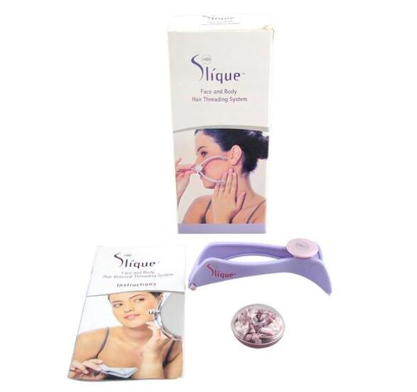 Slique Spa-quality Face And Body Hair Threading Removal System For Women remover Free Shipping
