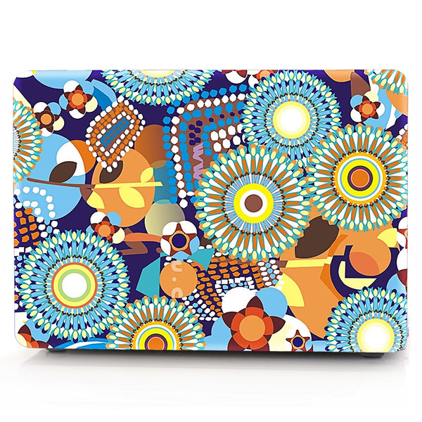 Flower-1 Oil painting Case for Apple Macbook Air 11 13 Pro Retina 12 13 15 inch Touch Bar 13 15 Laptop Cover Shell
