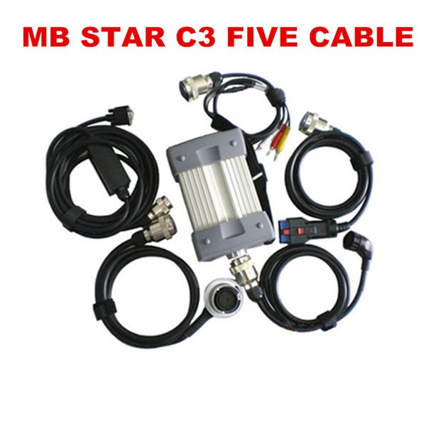 Best Quality Mb Star C3 Support All Modules Professional For Mercedes Benz  Diagnostic Tool All New Red Relay Without Hdd Server Diagnostic Tool Server