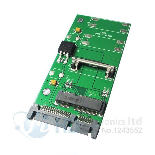 "MSATA to SATA Converter Adapter PCI-E To 2.5"" SATA II SSD Adapter PCI-E SSD to 2.5"" SATA 22-Pin Converter Adapter"