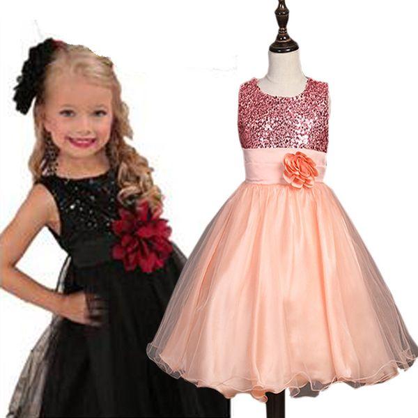 Großhandel 2017 Mädchen Kleid Baby Mädchen Kleider Prinzessin Party ...