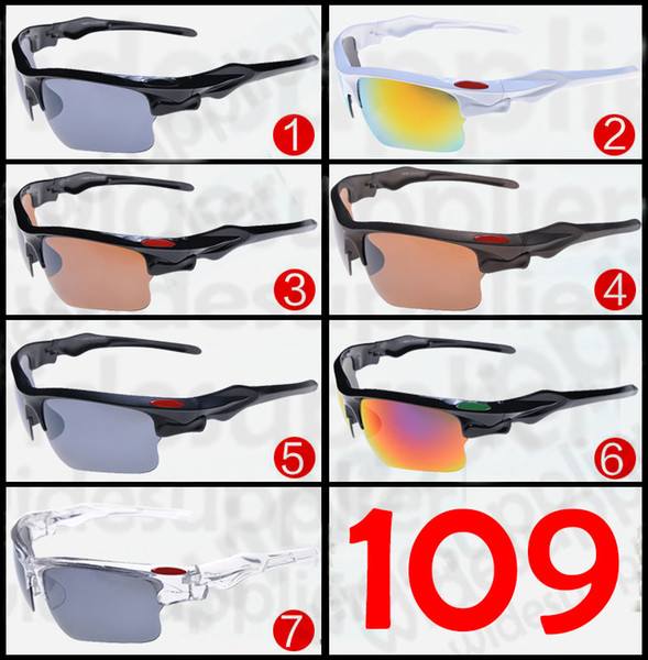 2017 Popular Sunglasses Cool Brand New Designer Sunglasses for Men and Women Outdoor Sport Cycling SUN Glass Eyewear 7 colors Cheap Eyeglass
