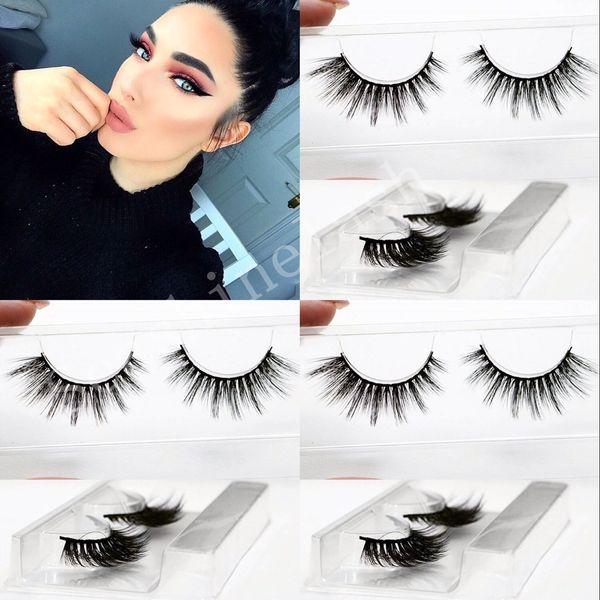 10pair Lot Beauty 3D False Eyelashes hot sale Eyelash Extensions handmade Fake Lashes Voluminous Fake Eyelashes For Eye Lashes Makeup