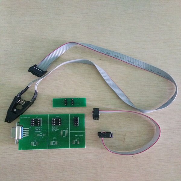 upa v1.3 upa usb eeprom board +8soic clip+eeprom adapter with chip and cable works with upa and xprog