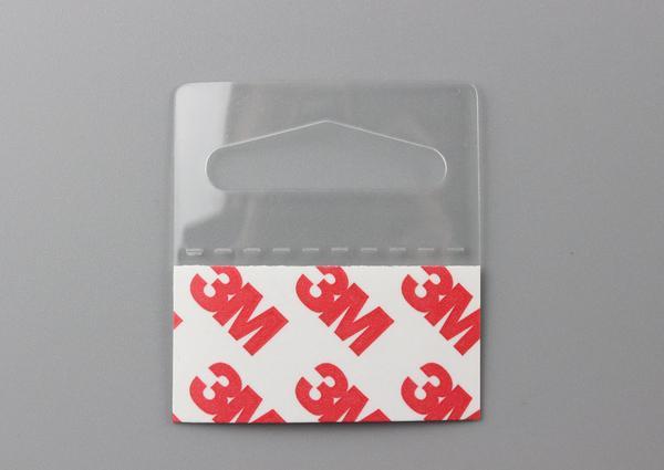 Packing hanger PVC PET Hang Hanging Tabs Hooks On Merchandise Package Box Bag Hangers Peghooks Display J-hook Self Adhesive