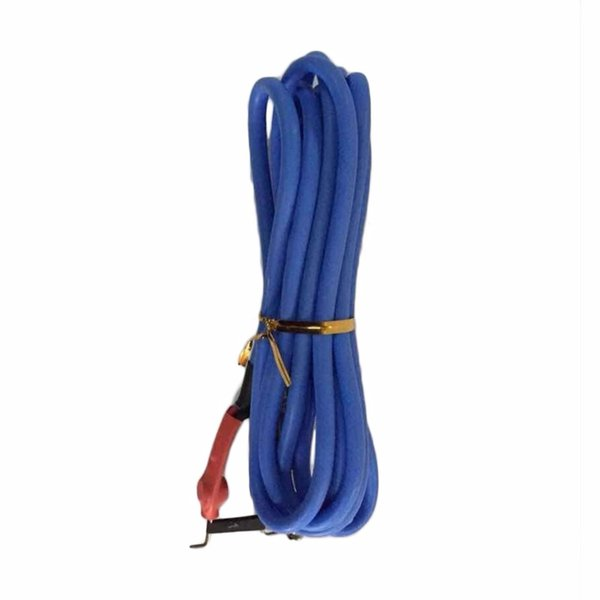 Wholesale-Bule High Quality Professional 2.4M Silicone Copper Wire Tattoo Power Supply Clip Cord Cable Tattoo Power Accessories