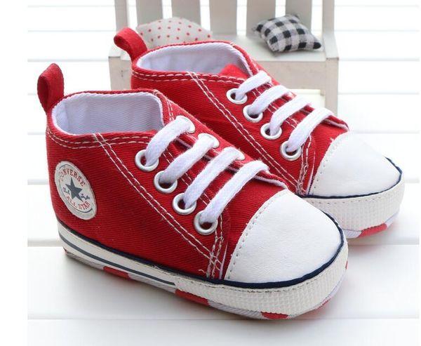 Moda Çocuklar Çocuk Kanvas Ayakkabılar Kızlar Pamuk Yürüyor Casual Sneakers Nefes Prenses Papyon Bebek Ayakkabıları Ilk Yürüyüşe