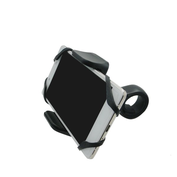 """Universal Mountain Bike Phone Mount Mobile Phone Holder for Motorcycle Bikes Cradle Mount for iphone 7 6 6S 6 Plus 3.6"""" Wide"""