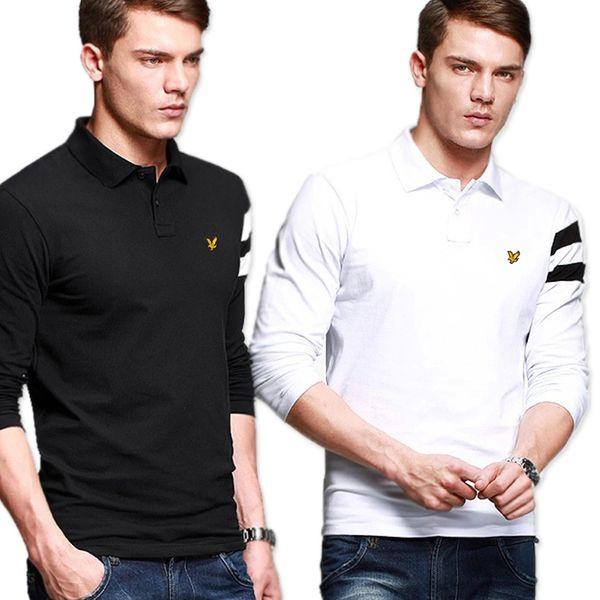 ... SALVATORE FERRAGAMO Logo-embroidered cotton-piqué polo shirt White MENS  Tops & t- ...