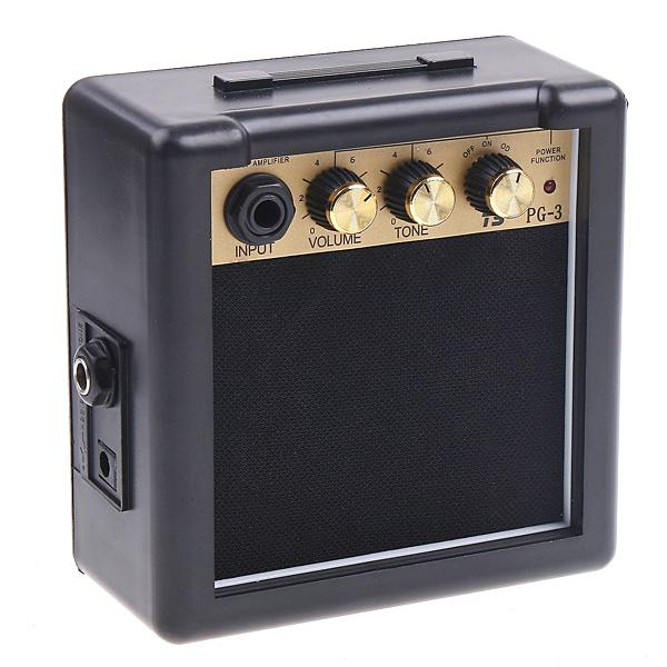 High Quality Electric Guitar Amplifier Hot Sale PG-3 3W Electric Guitar Amp Amplifier Speaker Volume Tone Control