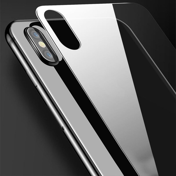 For iPhone X Back Tempered Glass Ultra Thin Clear 0.3mm Tempered Glass Screen Protector for iPhone 5/5s 6 6s 7 8 plus with retail package