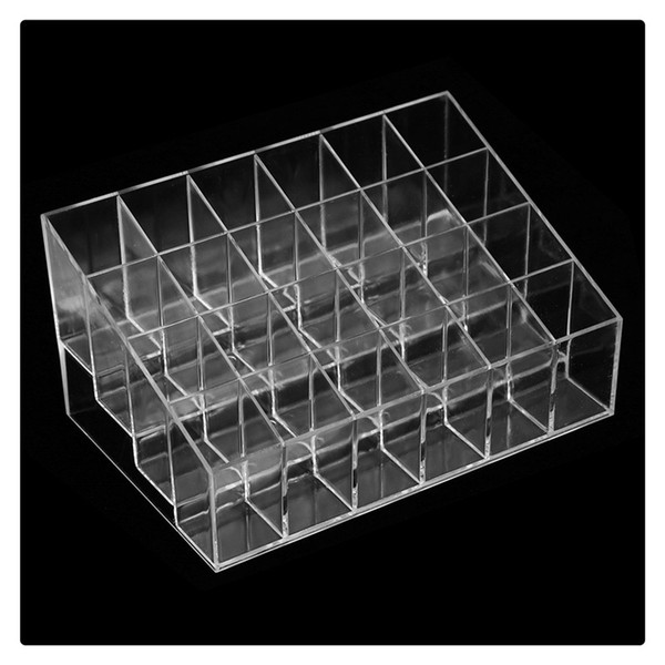 Wholesale Display Rack Holder Acrylic Jewelry Cosmetic Storage Display Stand Boxes Makeup Cosmetic Organizer Display Stand Free DHL