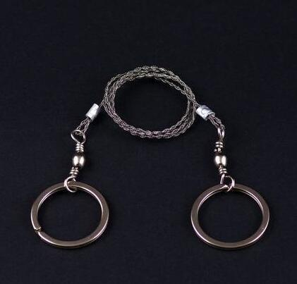 High Quality Stainless Steel Wire Saw Outdoor Practical Emergency Survival Gear Tools Wholesale Tool