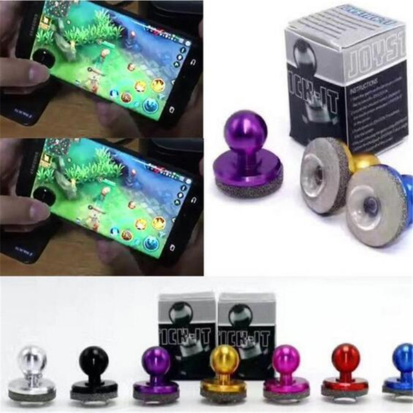 Universal Mini Mobile Joystick Joysticks Samrtphone Game Rocker Touch Screen Joypad Controller For iPad iPhone 7 Samsung Cheap Free DHL